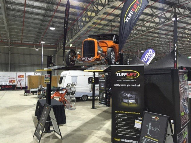 Bendigo Show - Set up 1